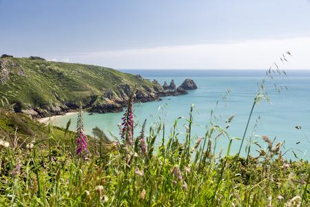 south coast: South coast of Guernsey island, UK, Europe
