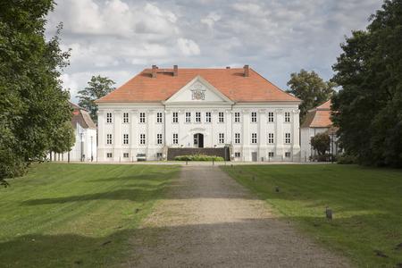 mecklenburg western pomerania: Hohenzieritz castle in Mecklenburg-Western Pomerania, Germany