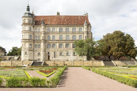 mecklenburg western pomerania: Guestrow castle in Mecklenburg-Western Pomerania, Germany Stock Photo