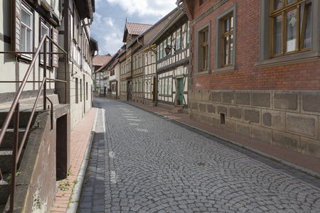 The small town of Stolberg in the Harz area in former East Germany