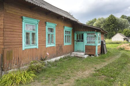 Typical home in the east of Belarus (White-Russia)