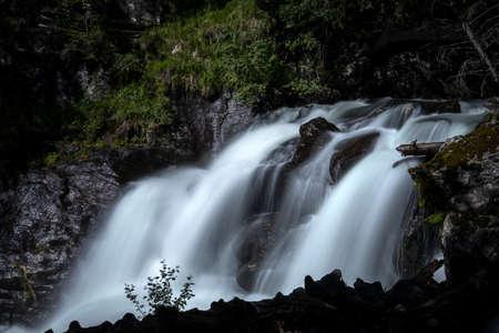 Waterfall in Styria, Austria, Europe