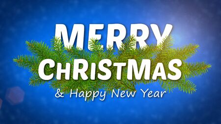 merry christmas animated , ideal footage for the Christmas period