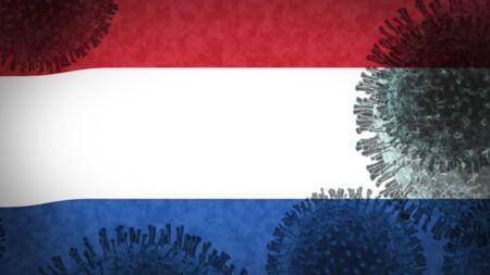 coronavirus infects Netherland, an epidemic that explodes uncontrollably