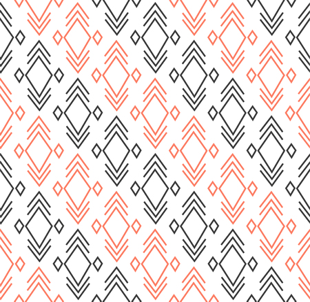 Geometric pattern with rhombus and lines elements