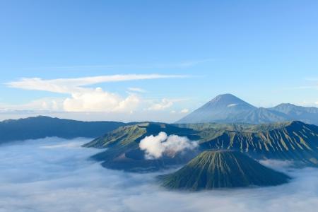 Bromo mountain in Indonesia Stock Photo