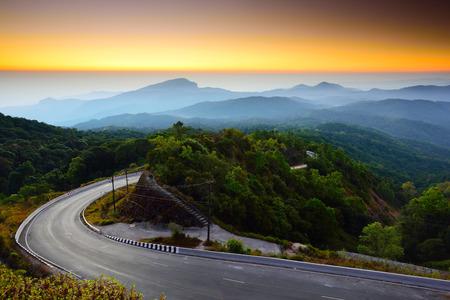 Doi Inthanon national park at the sunrise Reklamní fotografie