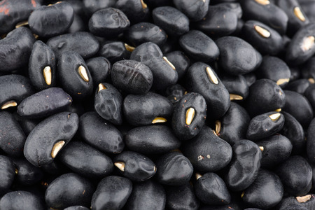 Close-up of black bean