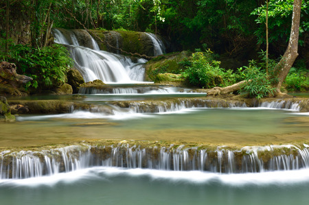 water fall: Water fall in tropical deep forest