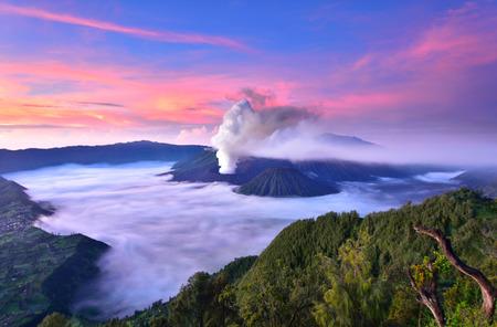 Sunrise at Mount Bromo Volcano Reklamní fotografie