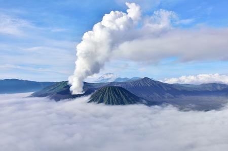 Bromo volcano at sunrise,Tengger Semeru National Park, East Java, Indonesia Reklamní fotografie