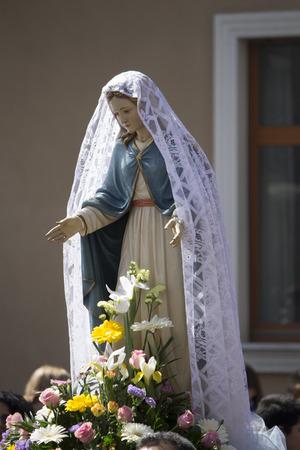 Madonna statues