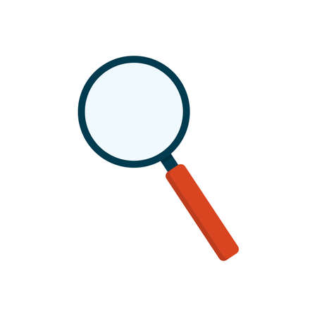 Magnifying glass vector icon isolated on white background. Vector EPS10. 向量圖像