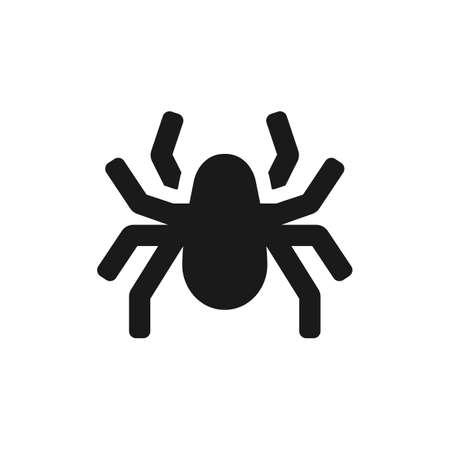 Spider vector icon.