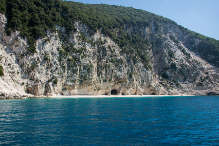 Kamari beach, island Cephalonia (Kefalonia), Greece