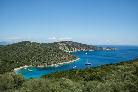 Filiatro beach, island Ithaca, Greece Stock Photo