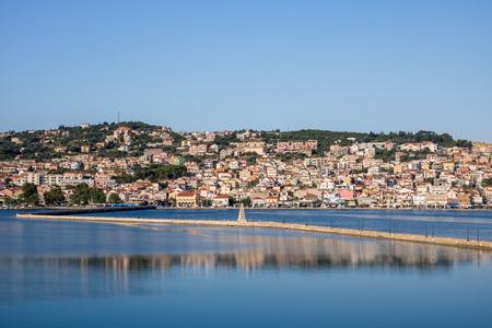 Argostoli, the capital of Greek island Kefalonia