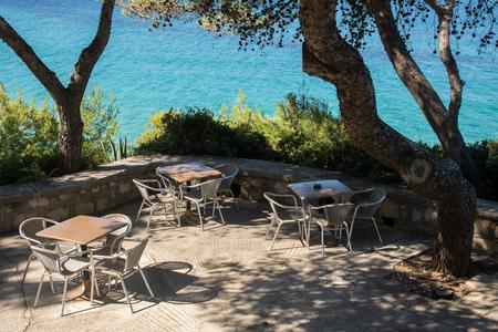 Platis Gialos beach, island Kefalonia, Greece