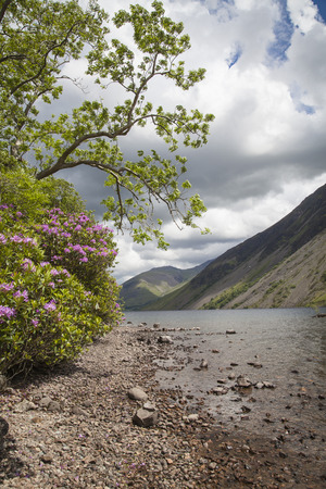 cumbria: Wastwater lake in Lake District, Cumbria