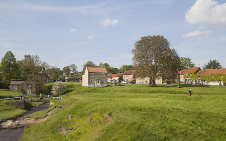 moors: Hutton-le-Hole, a small village in North York Moors National Park