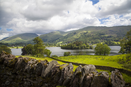 cumbria: Typical landscape in Lake District, Cumbria