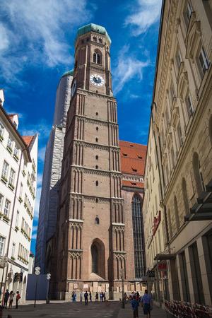 frauenkirche: The Frauenkirche in Munich