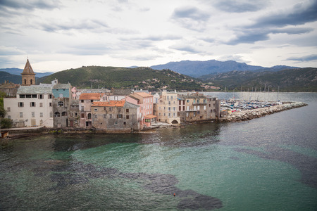 impressions: Villages and Impressions of Corsica Stock Photo