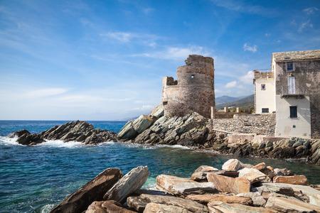 genoese: Genoese Watchtower in Corsica
