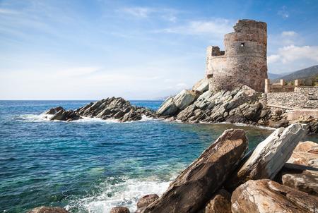 watchtower: Genoese Watchtower in Corsica