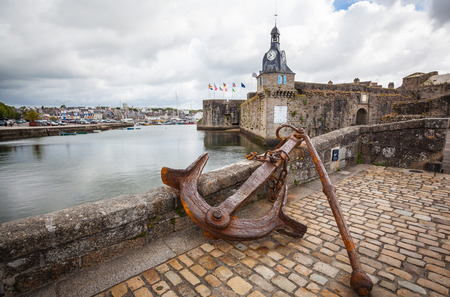 Concarneau in the Finistere department in Brittany