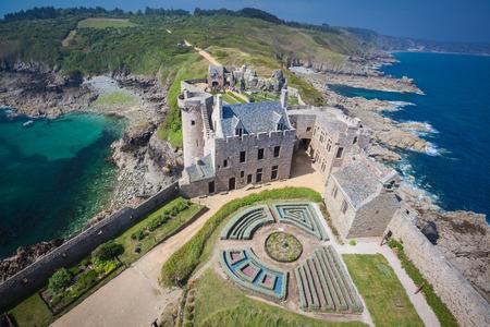 Fort La Latte Brittany France Stockfoto