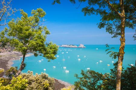 Cancale Smaragdküste der Bretagne Frankreich Standard-Bild - 41741651
