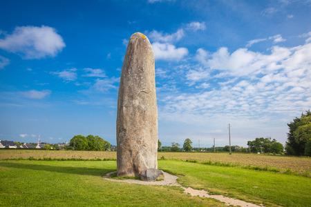Dol de Bretagne Menhir Brittany France