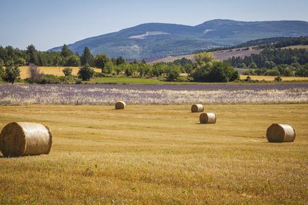 bales: Straw bales Provence France