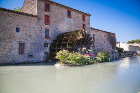 watermill: watermill Provence France Stock Photo