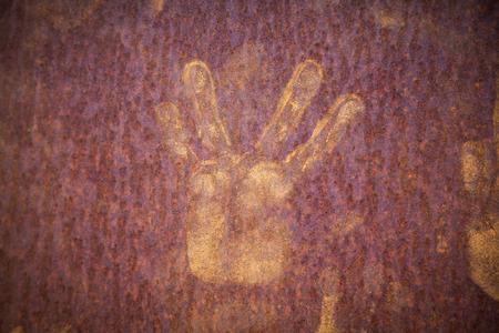 luberon: Handprints Roussillion Provence