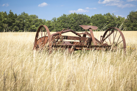 machines: Agricultural machines Stock Photo