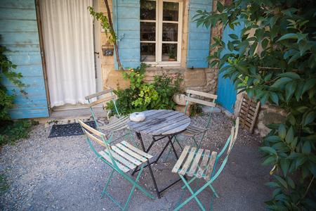 luberon: Saignon Provence France Stock Photo