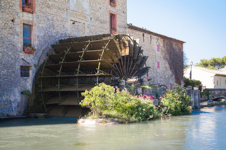 luberon: watermill Provence France Stock Photo