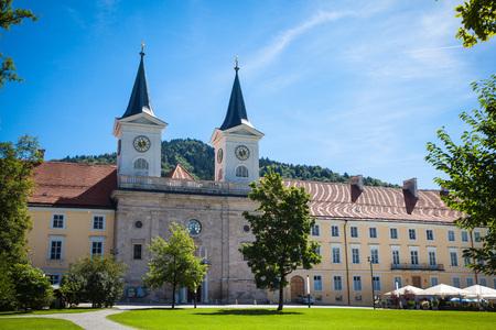 Tegernsee monastery in Bavaria Stock Photo