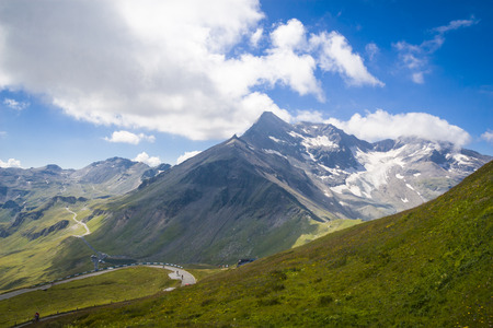 tauern: Grossglockner in the Hohe Tauern National Park