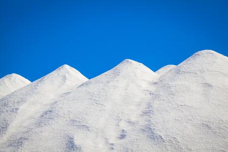 mallorca: Salt in the salines of Mallorca Stock Photo