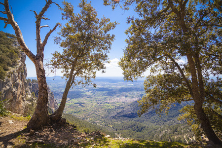Hiking in the Tramuntana, the mountains of Mallorca Imagens