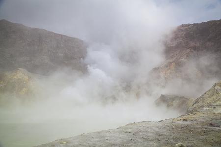 Volcanic landscape New Zealand