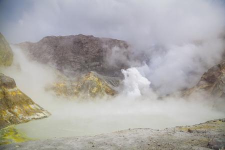 stone volcanic stones: Volcanic landscape in New Zealand