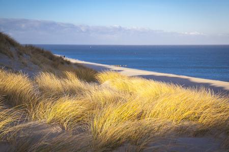 Beach of List Sylt Germany Stock Photo