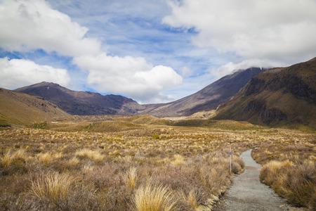 tongariro national park: Tongariro National Park New Zealand Stock Photo