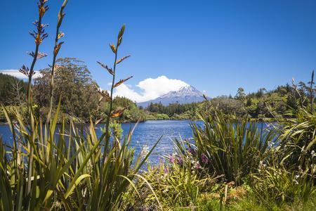 egmont: Mount Taranaki in New Zealand