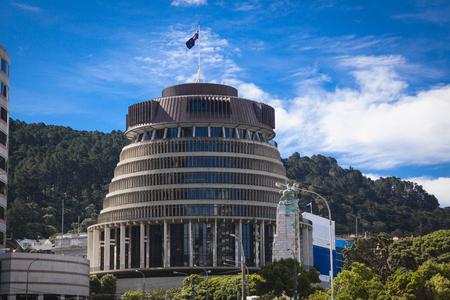 wellington: Wellington parliament building
