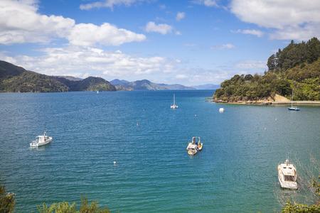 sounds: Sailing boats Marlborough Sounds